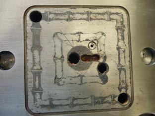 Corrosion on Backplate