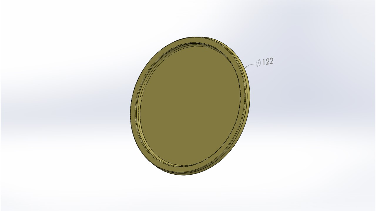 Common Round Disposable Lid