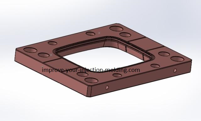 P20 stripper plate for injection molding