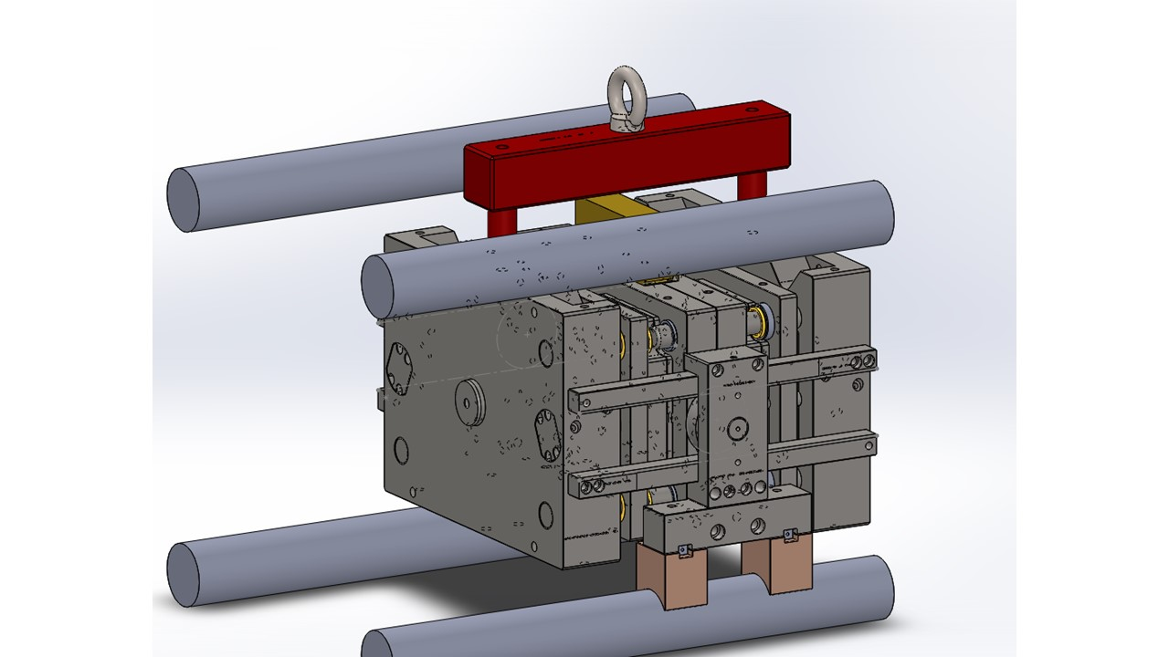 2+2 STACK MOULD DESIGN FOR RECTANGULAR LID