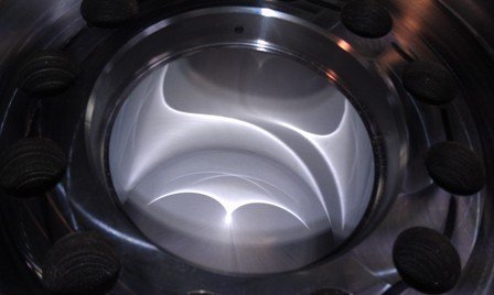 Polished Stainless Steel Cavity